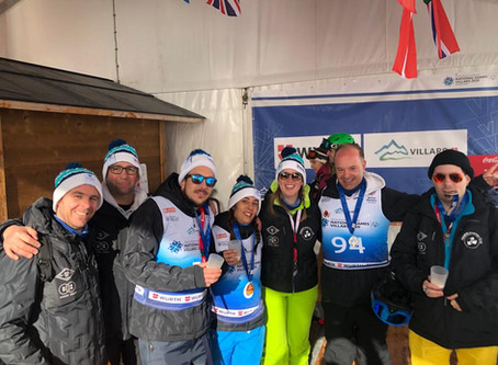 De retour des National Winter Games à  Villars