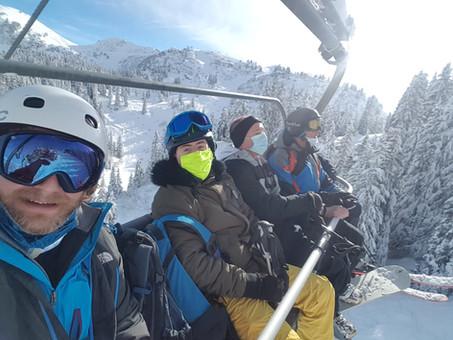 Section Ski à Villars sur Ollon, Samedi 16 janvier 2021