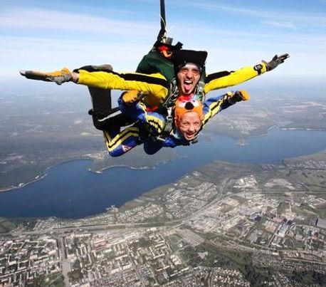прыжки в тандеме в Новосибирске