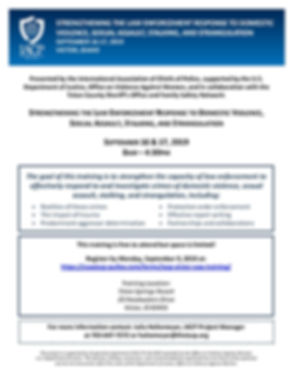 IACP Victor VAW Training Flyer Sept 16-1