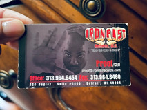 2006 Throwback Business Card given to FELONI from Proof (R.I.P.).