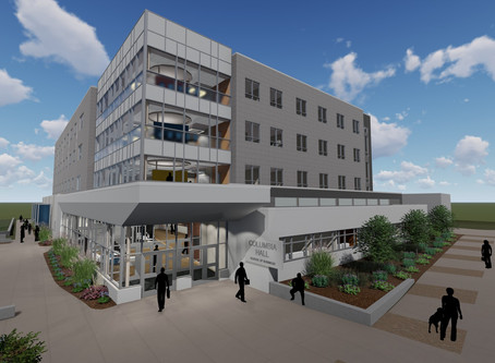 Unveiling of New Hall at Columbia College