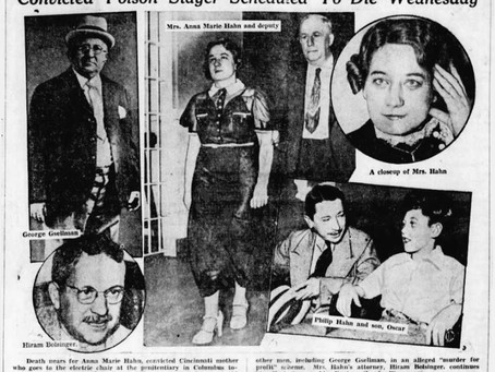 Arsenic Anna: First Woman To Die In Ohio's Electric Chair
