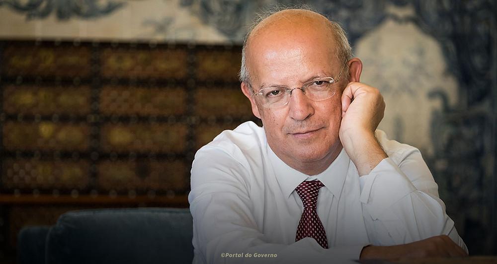 Fotografia do Ministro de Negócios Estrangeiros, Augusto Santos Silva