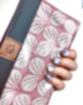 """Kosmetiktasche """"Fridulin"""" weiße Blüten a"""