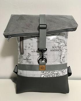 Backpack Rucksack _Jonas_ Weltkarte