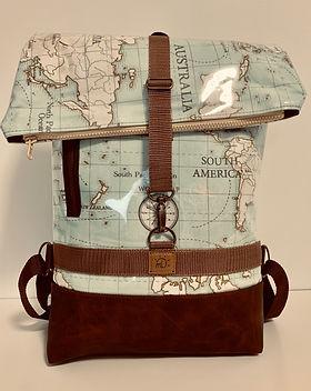 Backpack _Jonas_ Weltreise in Mint