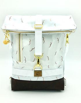 "Kombi bag ""Merle"" Golden Birds"