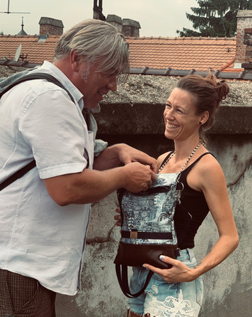 """Kombi Bag""""Carmen"""" Städtereise"""