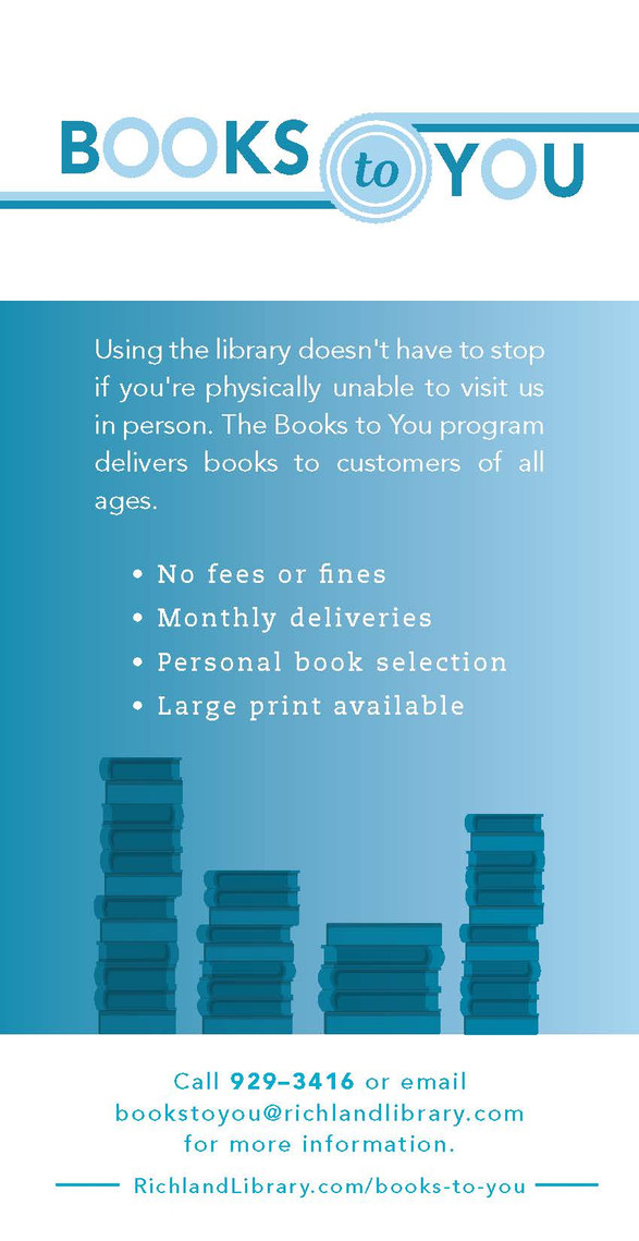 Book to You Flyer redesign