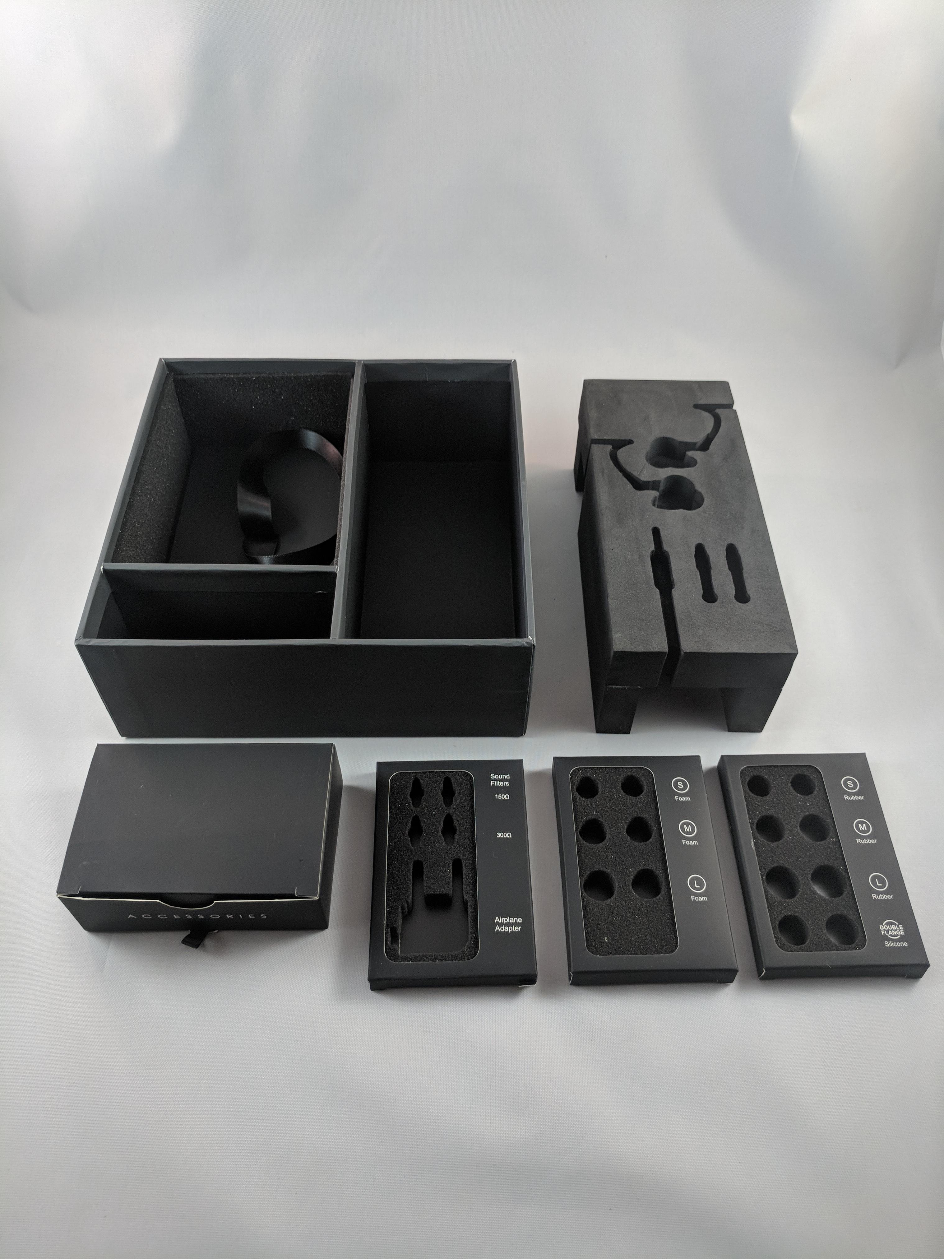 RIGID BOX + EVA INSERT + FOAM CUTOUT