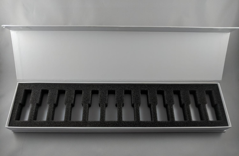 RIGID SAMPLE DISPLAY BOX