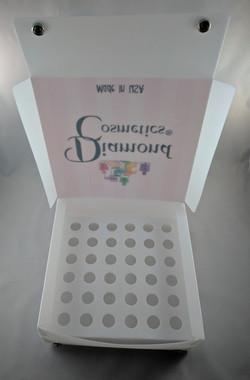 PLASTIC SAMPLE DISPLAY BOX