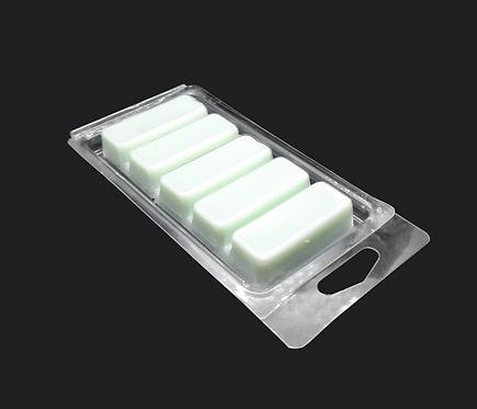 5 SECTION SNAP BAR CLAMSHELL (HOLDS 1.75 OZ) - 250 pcs - SKU#GC-WM0151