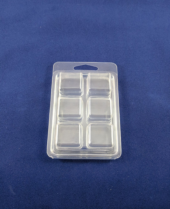 DELUXE 6 CAVITY CLAMSHELL (HOLDS 2.4 OZ) - 250 pcs - SKU#GC-WM0011