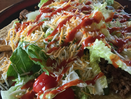 Taco Salad Doesn't have to be Sinful