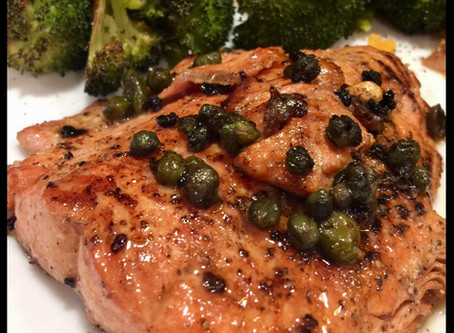 Easy Sautéed Salmon with Capers