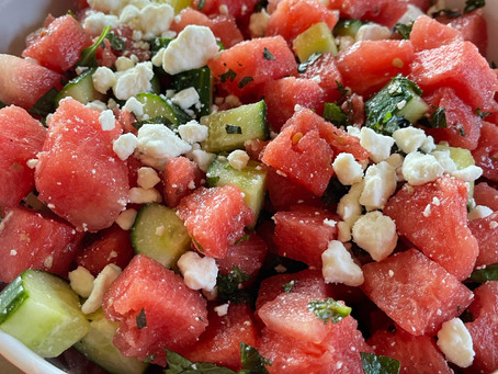Hydrating Watermelon Salad
