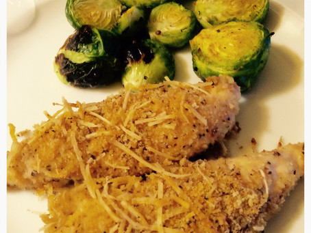Parmesan Crusted or Garlic Basil Baked Chicken: Its a Two For One!