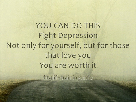 You Can Do This: Fight Depression