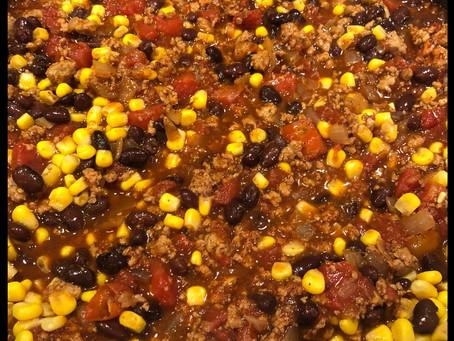 Black Bean and Corn Chili