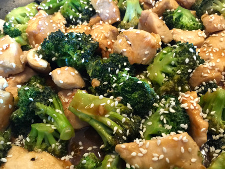 12 - minute Chicken and Broccoli