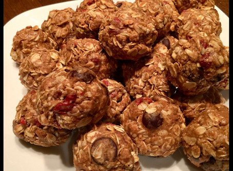 The Amazing Chocolate and Gogi Berry Energy Ball