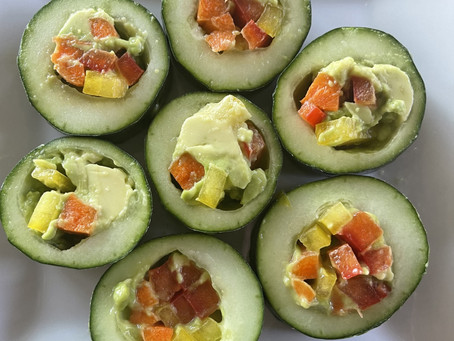 Cucumber Veggie Sushi