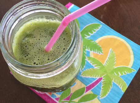 Pineapple and Greens Smoothie