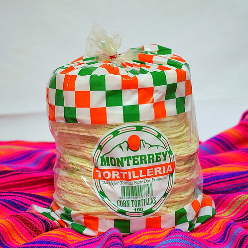 White Corn Tortillas 100 ct