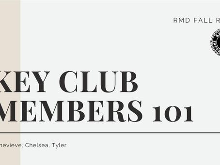 Fall Rally 2020: Key Club Members 101 (Training)