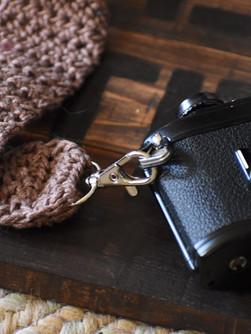 Crocheted Camera Strap