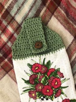 Crocheted Towel Topper