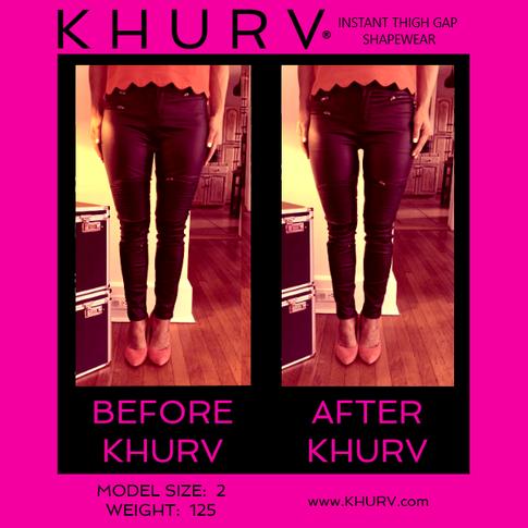 KHURV® Instant Thigh Gap Shapewear