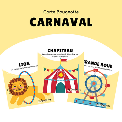 Carte Bougeotte CARNAVAL