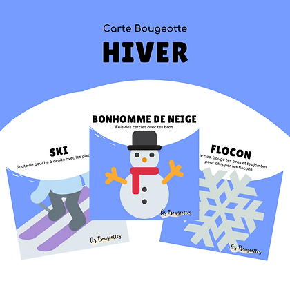 Carte Bougeotte HIVER