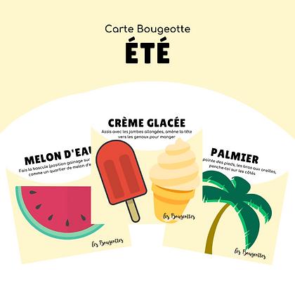 Carte Bougeotte ÉTÉ