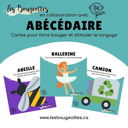 Carte Bougeotte x ORpair ABÉCÉDAIRE
