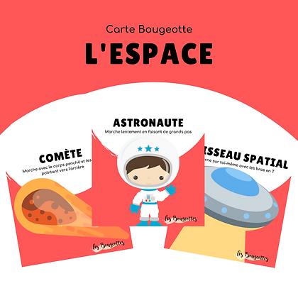Carte Bougeotte L'ESPACE