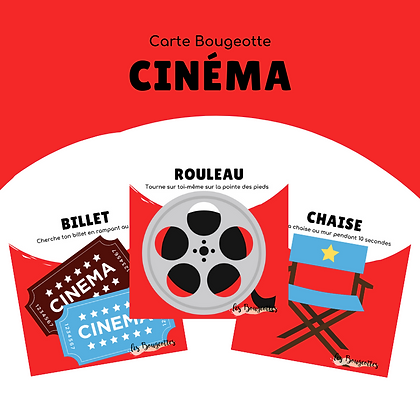 Carte Bougeotte CINÉMA