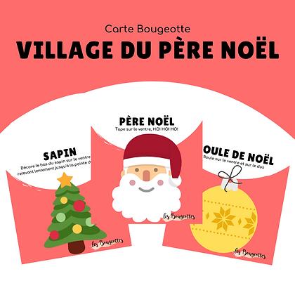 Carte Bougeotte VILLAGE DU PÈRE NOËL