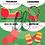Thumbnail: Carte bougeotte NOËL SUR LA ROUTE