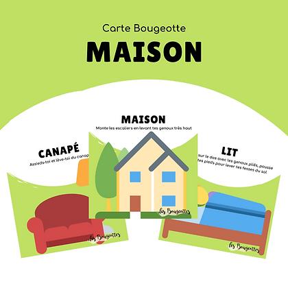 Carte Bougeotte MAISON