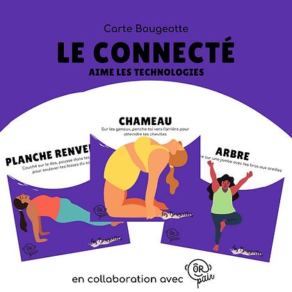 Carte Bougeotte x ORpair LE CONNECTÉ