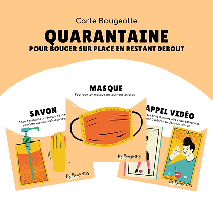 Carte Bougeotte QUARANTAINE