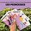 Thumbnail: Carte Bougeotte Carton x Sabrina, Frivole maquilleuse PRINCESSES