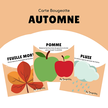 Carte Bougeotte AUTOMNE