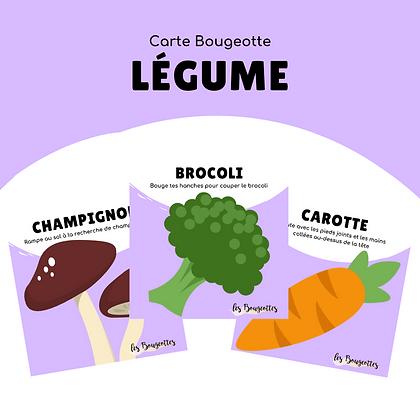 Carte Bougeotte LÉGUME