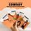 Thumbnail: Carte Bougeotte Carton COWBOY