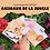 Thumbnail: Carte Bougeotte Carton ANIMAUX DE LA JUNGLE
